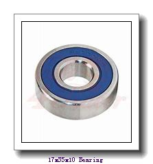 17 mm x 35 mm x 10 mm  NTN 7003UCG/GNP42 angular contact ball bearings