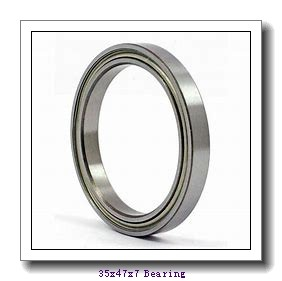 35 mm x 47 mm x 7 mm  FBJ 6807 deep groove ball bearings