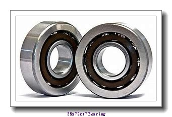 35 mm x 72 mm x 17 mm  KOYO NC7207V deep groove ball bearings