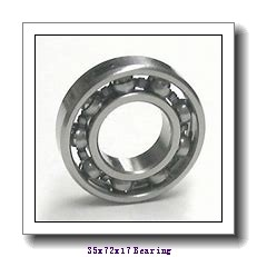 35 mm x 72 mm x 17 mm  FAG HCB7207-E-2RSD-T-P4S angular contact ball bearings