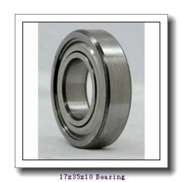 17 mm x 35 mm x 10 mm  KBC 6003 deep groove ball bearings
