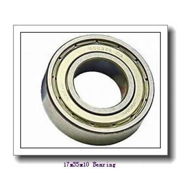 17 mm x 35 mm x 10 mm  ISO 6003 ZZ deep groove ball bearings
