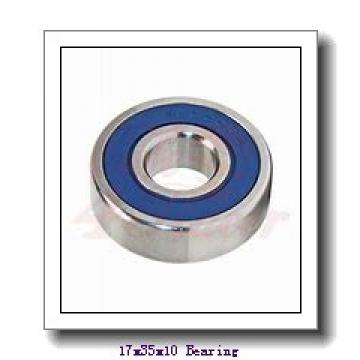 17 mm x 35 mm x 10 mm  Loyal 6003 deep groove ball bearings