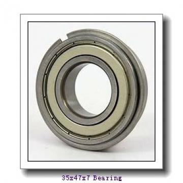 35 mm x 47 mm x 7 mm  ISO 61807-2RS deep groove ball bearings