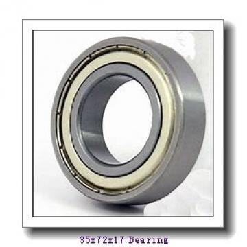 35 mm x 72 mm x 17 mm  ISO 1207 self aligning ball bearings