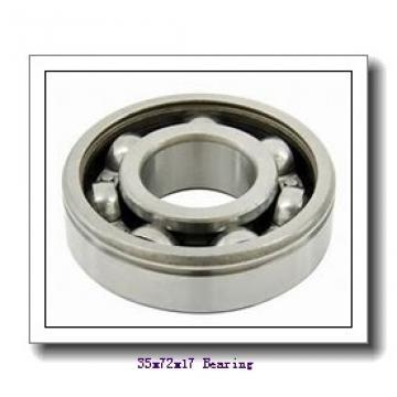 35 mm x 72 mm x 17 mm  NTN 7207DT angular contact ball bearings