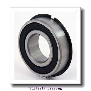 35 mm x 72 mm x 17 mm  ISO 7207 C angular contact ball bearings