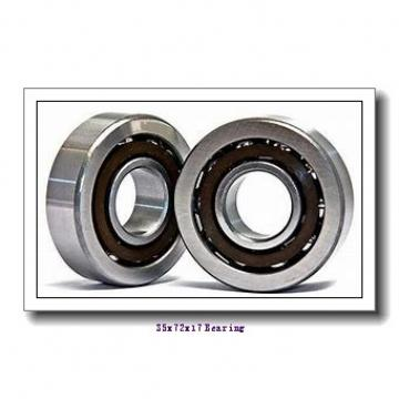 35 mm x 72 mm x 17 mm  SKF QJ207N2MA angular contact ball bearings