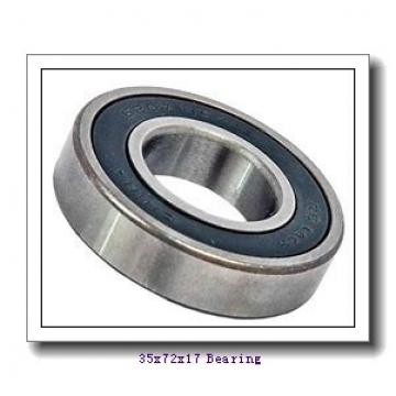 35 mm x 72 mm x 17 mm  ISO N207 cylindrical roller bearings