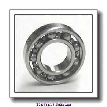 35 mm x 72 mm x 17 mm  FBJ NU207 cylindrical roller bearings