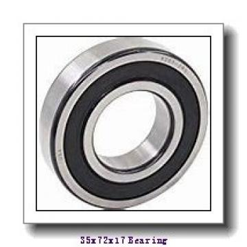 35 mm x 72 mm x 17 mm  Fersa 6207-2RS deep groove ball bearings