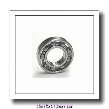 35 mm x 72 mm x 32 mm  SNR CUS207 deep groove ball bearings