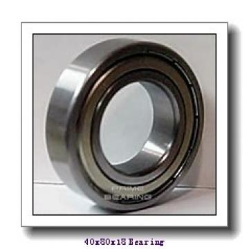 40 mm x 80 mm x 18 mm  CYSD NJ208+HJ208 cylindrical roller bearings