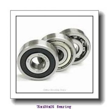 75 mm x 130 mm x 25 mm  NKE 1215-K+H215 self aligning ball bearings