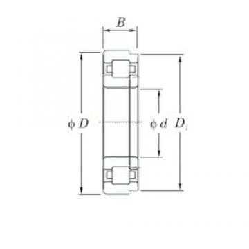 35 mm x 72 mm x 17 mm  KOYO NUP207 cylindrical roller bearings