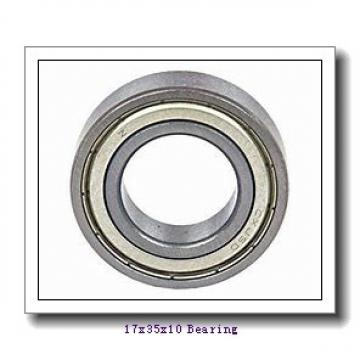 17 mm x 35 mm x 10 mm  NTN AC-6003LLB deep groove ball bearings