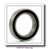 35 mm x 47 mm x 7 mm  NTN 6807 deep groove ball bearings