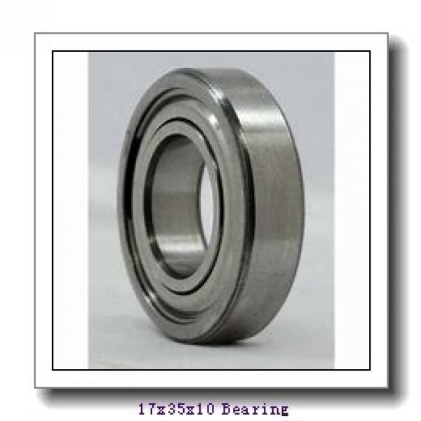 17 mm x 35 mm x 10 mm  NSK 17BGR10S angular contact ball bearings #1 image