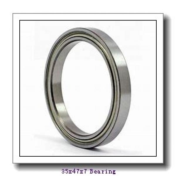 35 mm x 47 mm x 7 mm  NACHI 6807-2NKE deep groove ball bearings #1 image