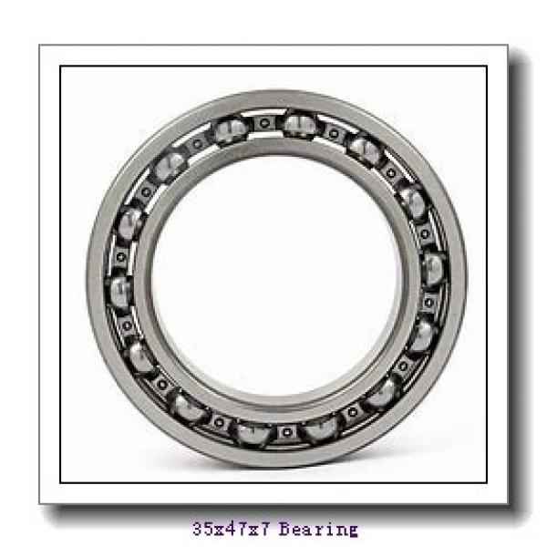 35 mm x 47 mm x 7 mm  NTN 6807NR deep groove ball bearings #1 image