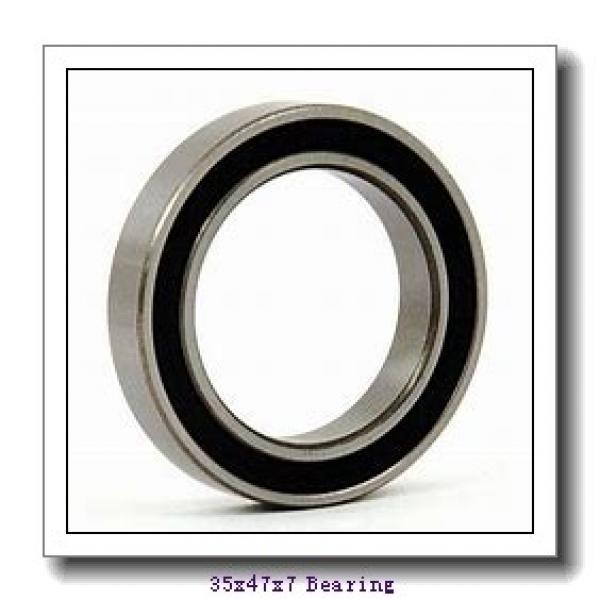 35 mm x 47 mm x 7 mm  NACHI 6807ZZE deep groove ball bearings #1 image
