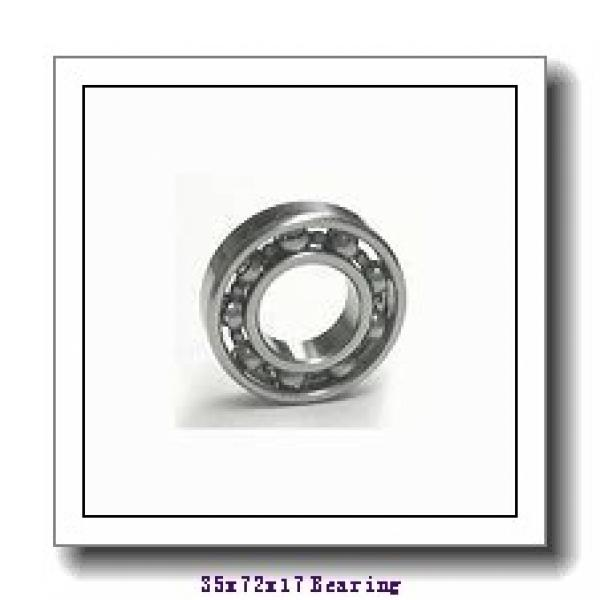 35 mm x 72 mm x 17 mm  SIGMA NJ 207 cylindrical roller bearings #1 image
