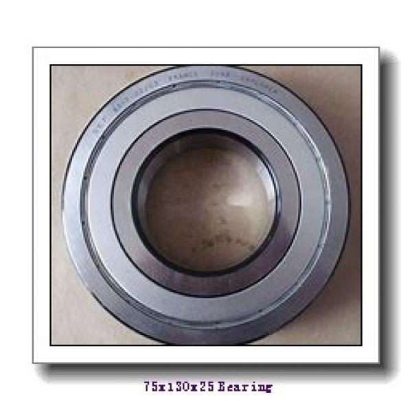 75 mm x 130 mm x 25 mm  NKE NJ215-E-MA6+HJ215-E cylindrical roller bearings #1 image