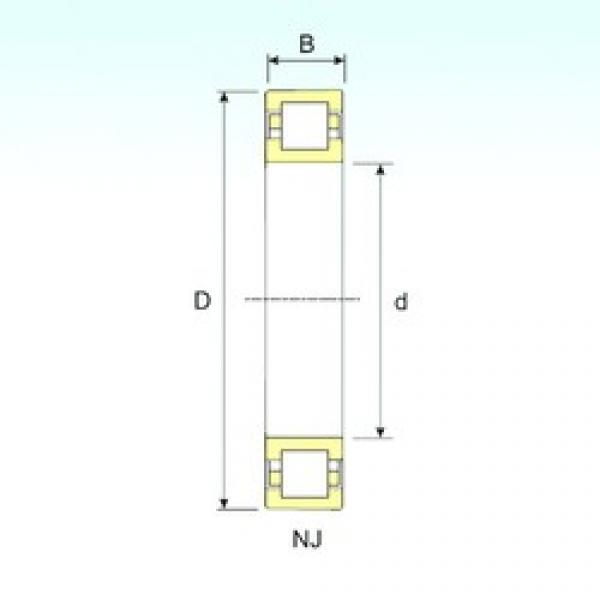 35 mm x 72 mm x 17 mm  ISB NUP 207 cylindrical roller bearings #2 image