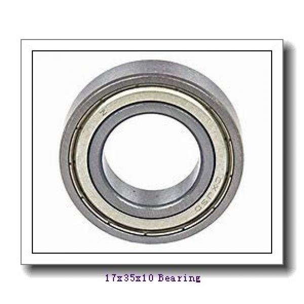 17 mm x 35 mm x 10 mm  NTN AC-6003LLB deep groove ball bearings #1 image