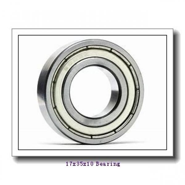 17 mm x 35 mm x 10 mm  SNR 7003CVUJ74 angular contact ball bearings #1 image