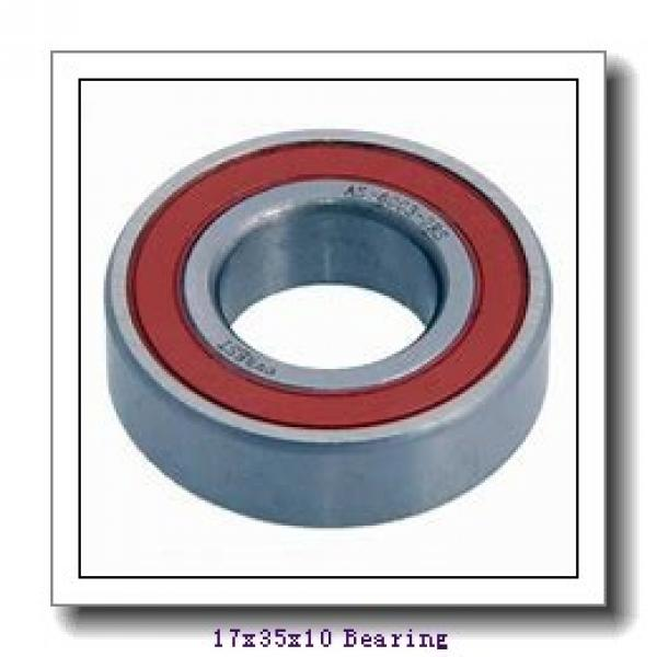 17 mm x 35 mm x 10 mm  NACHI 6003 deep groove ball bearings #1 image